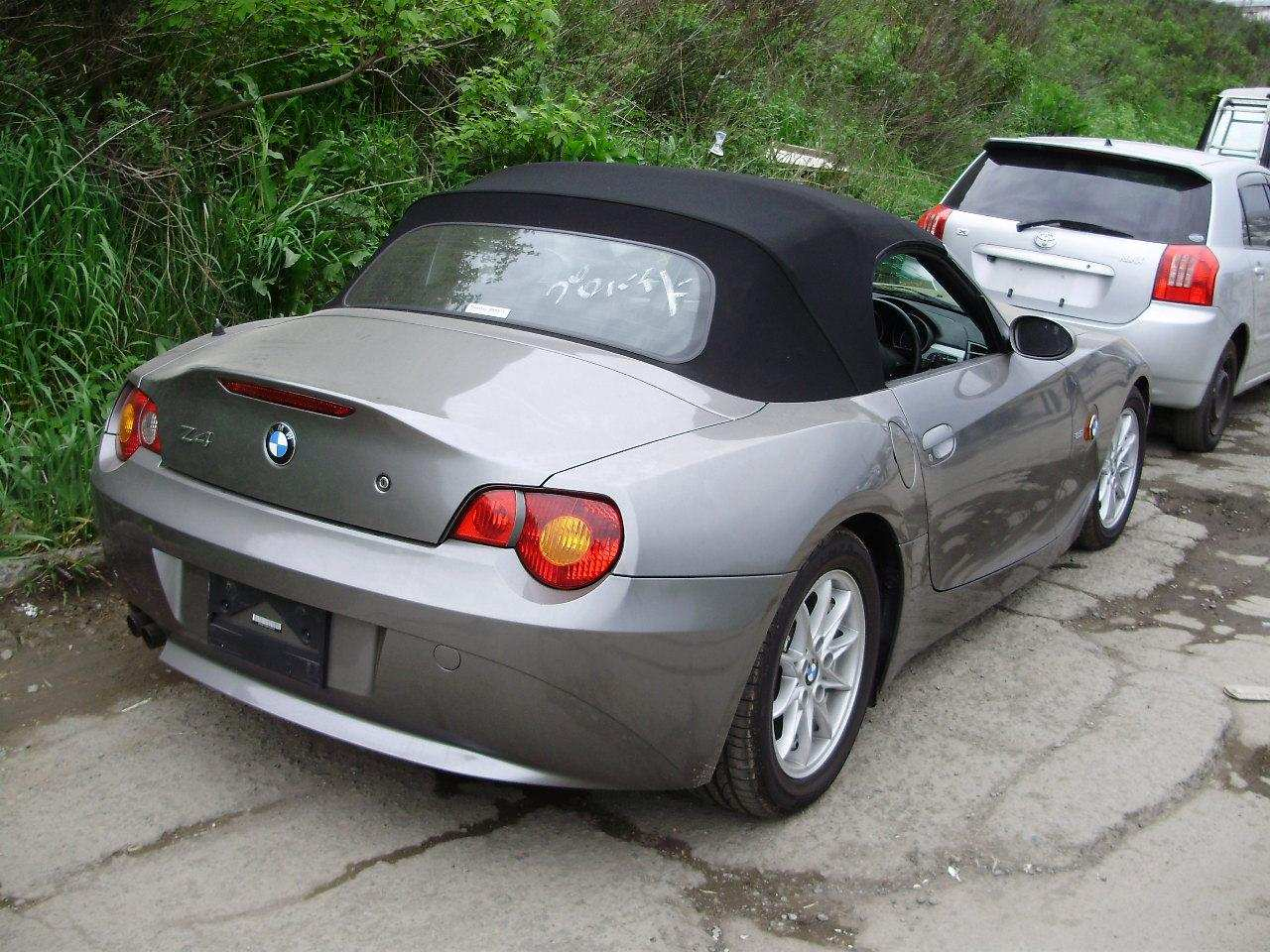 Used 2004 Bmw Z4 Photos 2500cc Gasoline Fr Or Rr