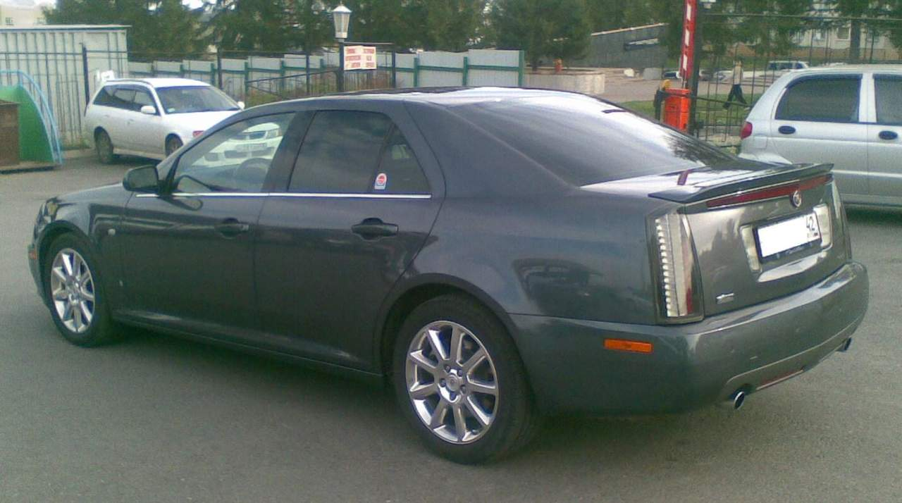 2007 cadillac sts pictures gasoline fr or rr automatic for sale. Black Bedroom Furniture Sets. Home Design Ideas