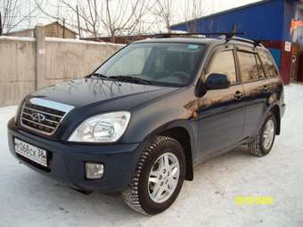 2008 Chery Tiggo Photos