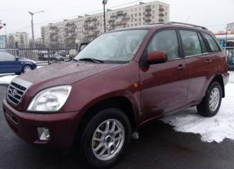 2009 Chery Tiggo Photos