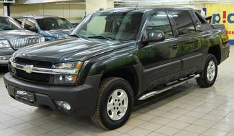 2004 Chevrolet Avalanche Pictures