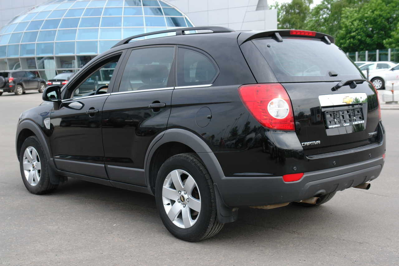 2008 Chevrolet Captiva Pictures, 2.4l., Gasoline, Manual For Sale