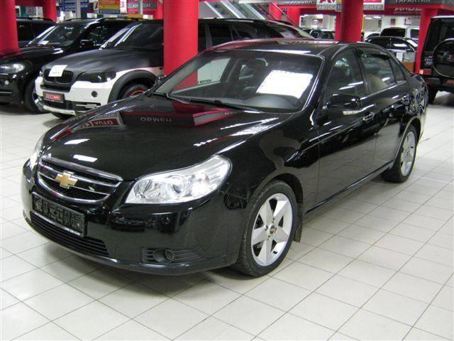 Chevrolet Epica 2008. 2008 Chevrolet Epica