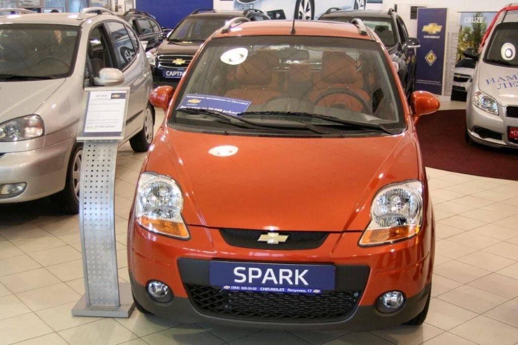 Chevrolet Spark Logo. Chevrolet Spark 2009