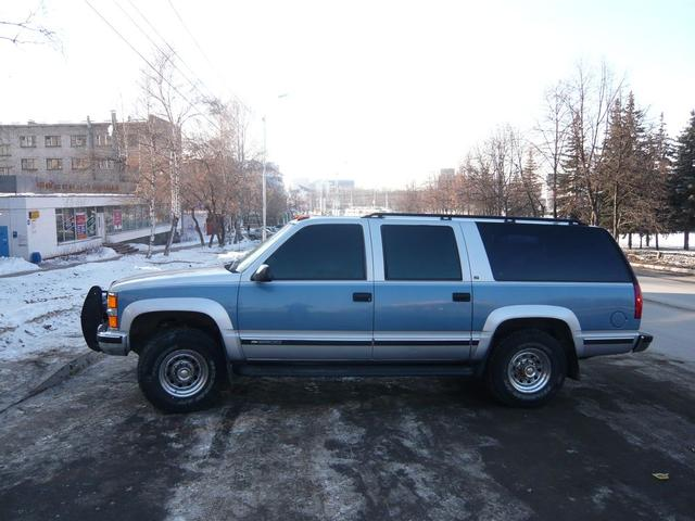 used 1997 chevrolet suburban photos 7400cc gasoline. Black Bedroom Furniture Sets. Home Design Ideas