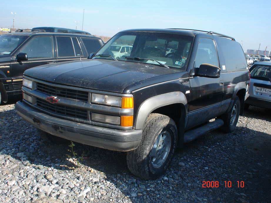 1994 chevrolet tahoe pictures 5700cc gasoline. Black Bedroom Furniture Sets. Home Design Ideas