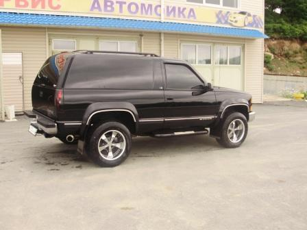 1998 chevrolet tahoe specs engine size 5 8l fuel type gasoline transmission gearbox automatic 1998 chevrolet tahoe specs engine size