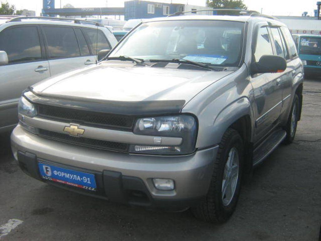 All Chevy chevy 2001 : 2001 Chevrolet Trailblazer Wallpapers