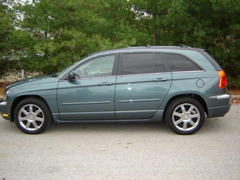 pacifica chrysler 2003 towing capacity enlarge