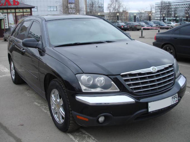 2003 chrysler pacifica pictures gasoline automatic for sale. Black Bedroom Furniture Sets. Home Design Ideas