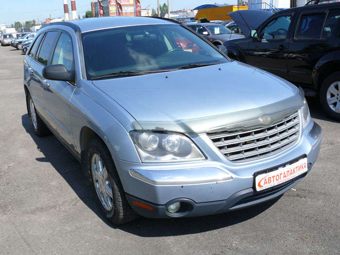 used 2003 chrysler pacifica photos 3 5 gasoline automatic for sale. Black Bedroom Furniture Sets. Home Design Ideas