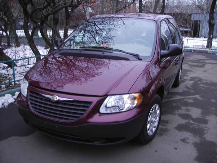 2002 Chrysler Voyager