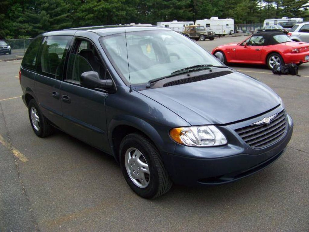 2003 chrysler voyager pictures 2400cc gasoline ff automatic for sale