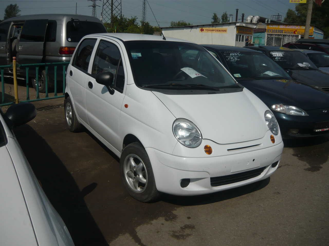2003 Daewoo Matiz Pictures, 800cc., Manual For Sale