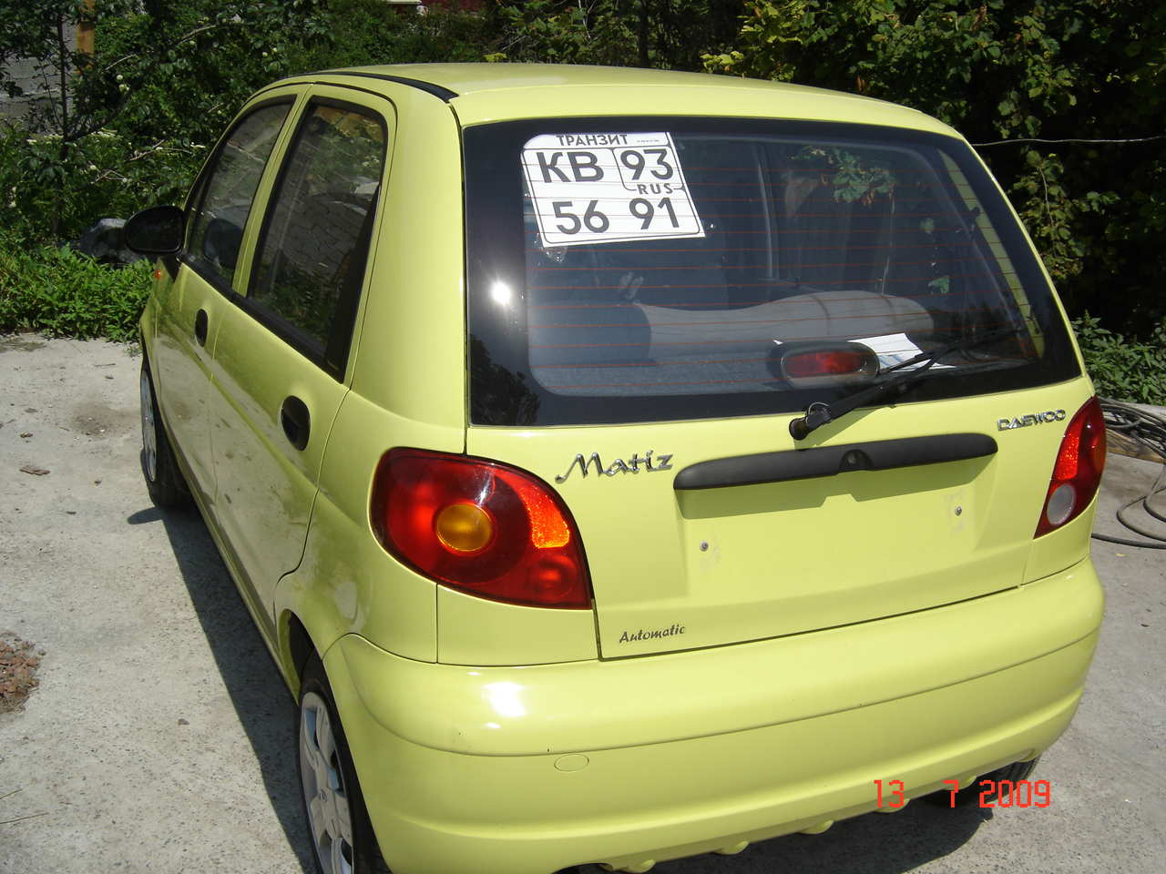 2008 daewoo matiz pictures gasoline ff automatic for sale. Black Bedroom Furniture Sets. Home Design Ideas