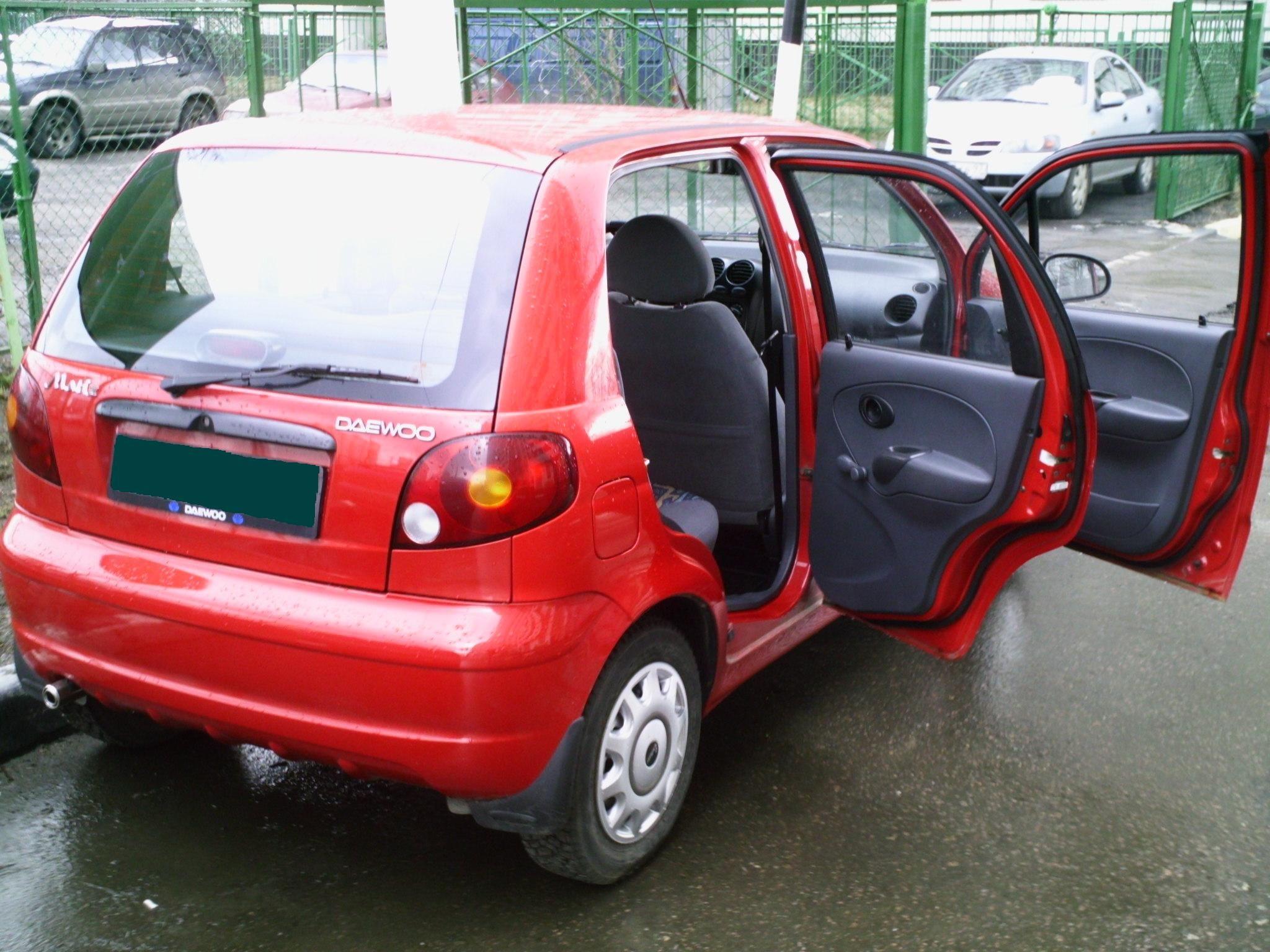 2003 Daewoo Matiz II Pictures For Sale