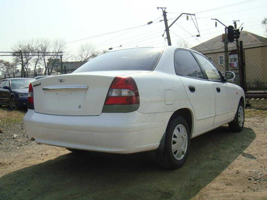 used 2001 daewoo nubira photos 1500cc gasoline ff. Black Bedroom Furniture Sets. Home Design Ideas