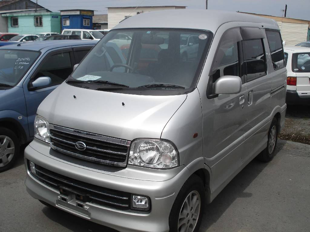2002 Daihatsu Atrai Pictures 1300cc Gasoline Automatic