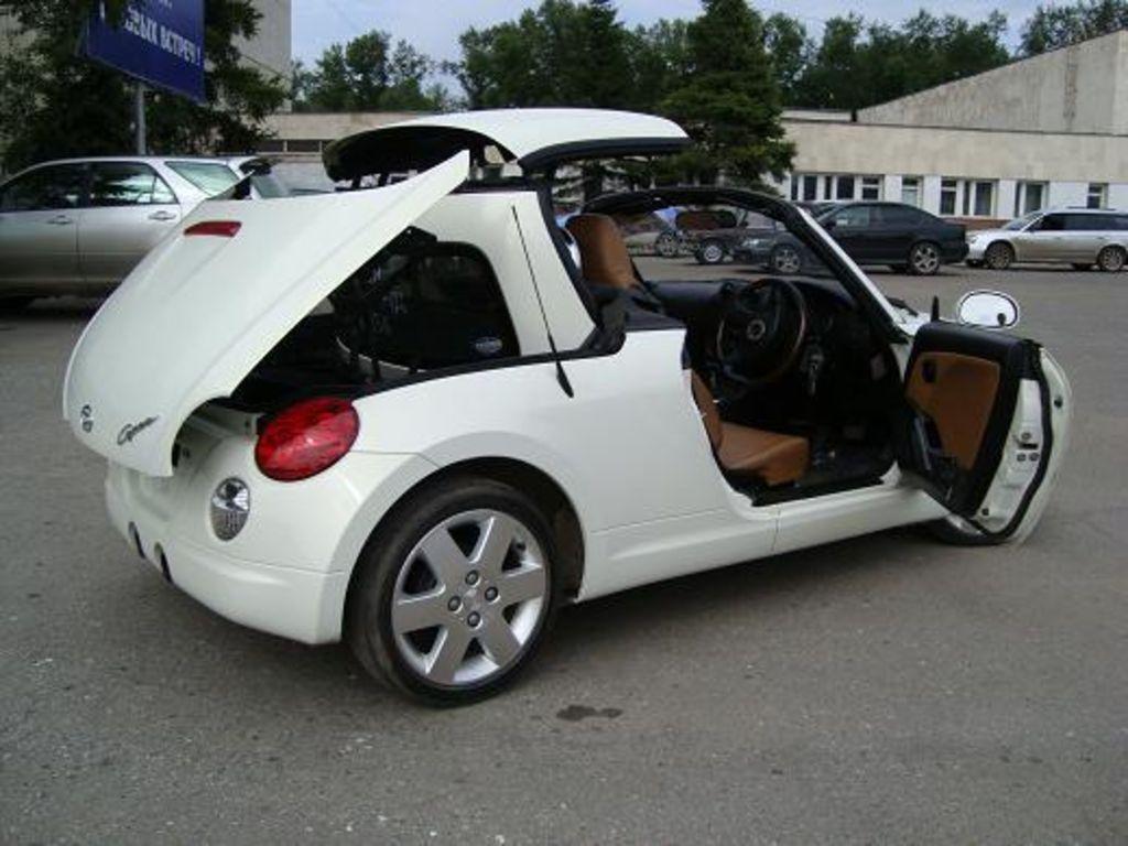 2003 Daihatsu Copen Pictures 660cc Gasoline Ff
