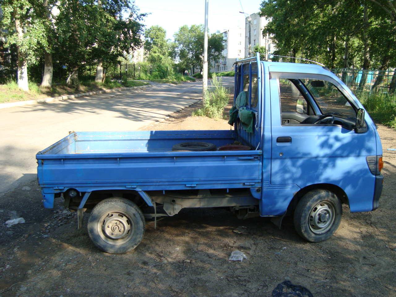 of daihatsu s other mini trucks 1995 daihatsu hijet pictures photo 2