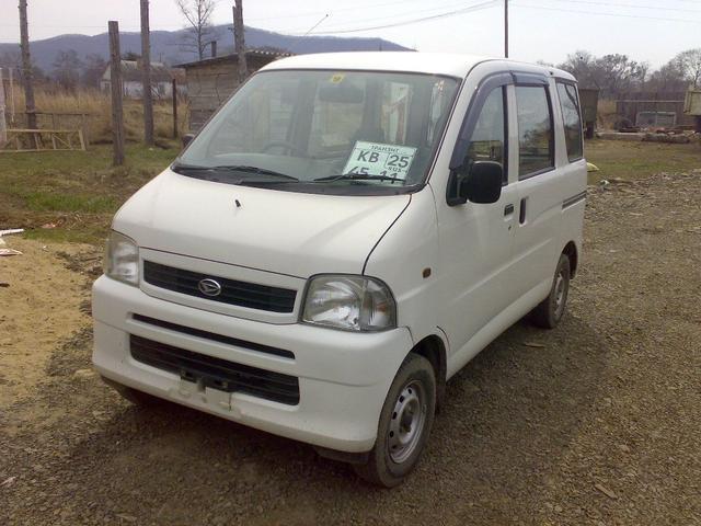 2002 Daihatsu Hijet For Sale, 660cc., Gasoline, Manual For