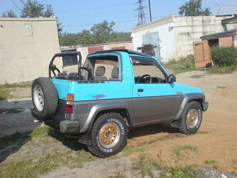 1990 Daihatsu Rocky For Sale, 1600cc , Gasoline, Manual For Sale