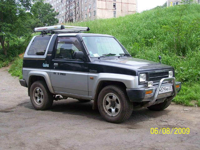 1993 Daihatsu Rocky Pictures, 1600cc , Gasoline, Automatic