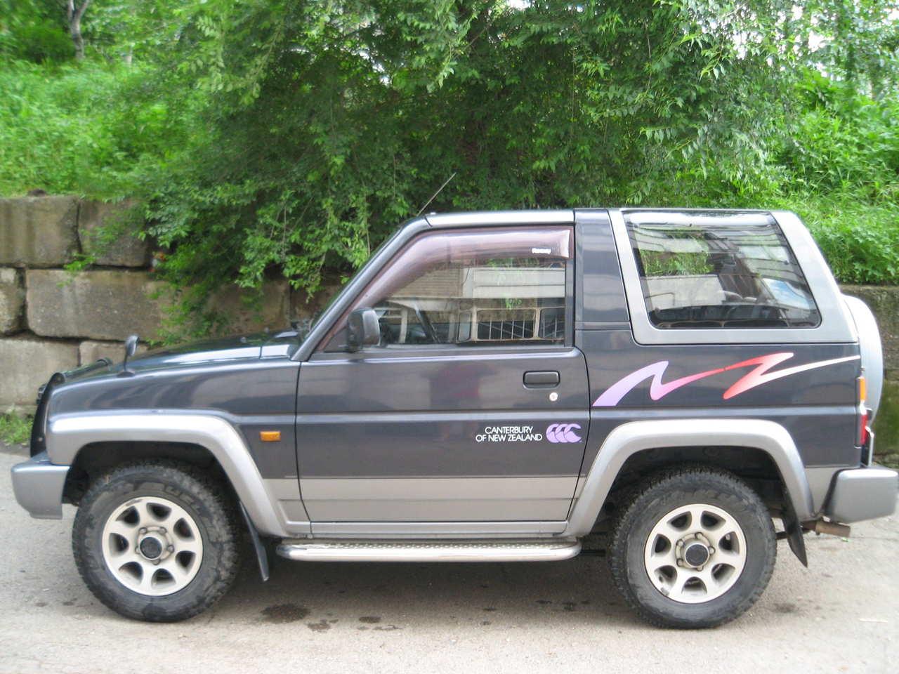 1995 Daihatsu Rocky Pictures, 1600cc , Gasoline, Automatic