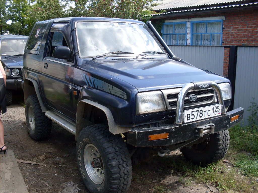 Used 1995 Daihatsu Rocky Photos 1600cc Gasoline Manual border=