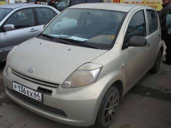 2005 Daihatsu Sirion For Sale