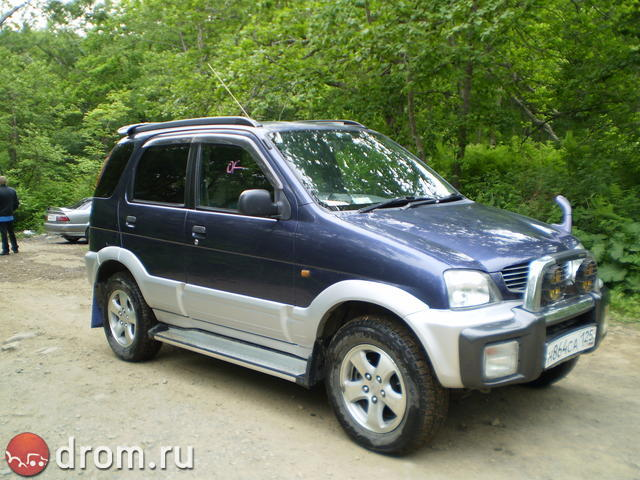 1997 daihatsu terios pictures 1300cc gasoline. Black Bedroom Furniture Sets. Home Design Ideas