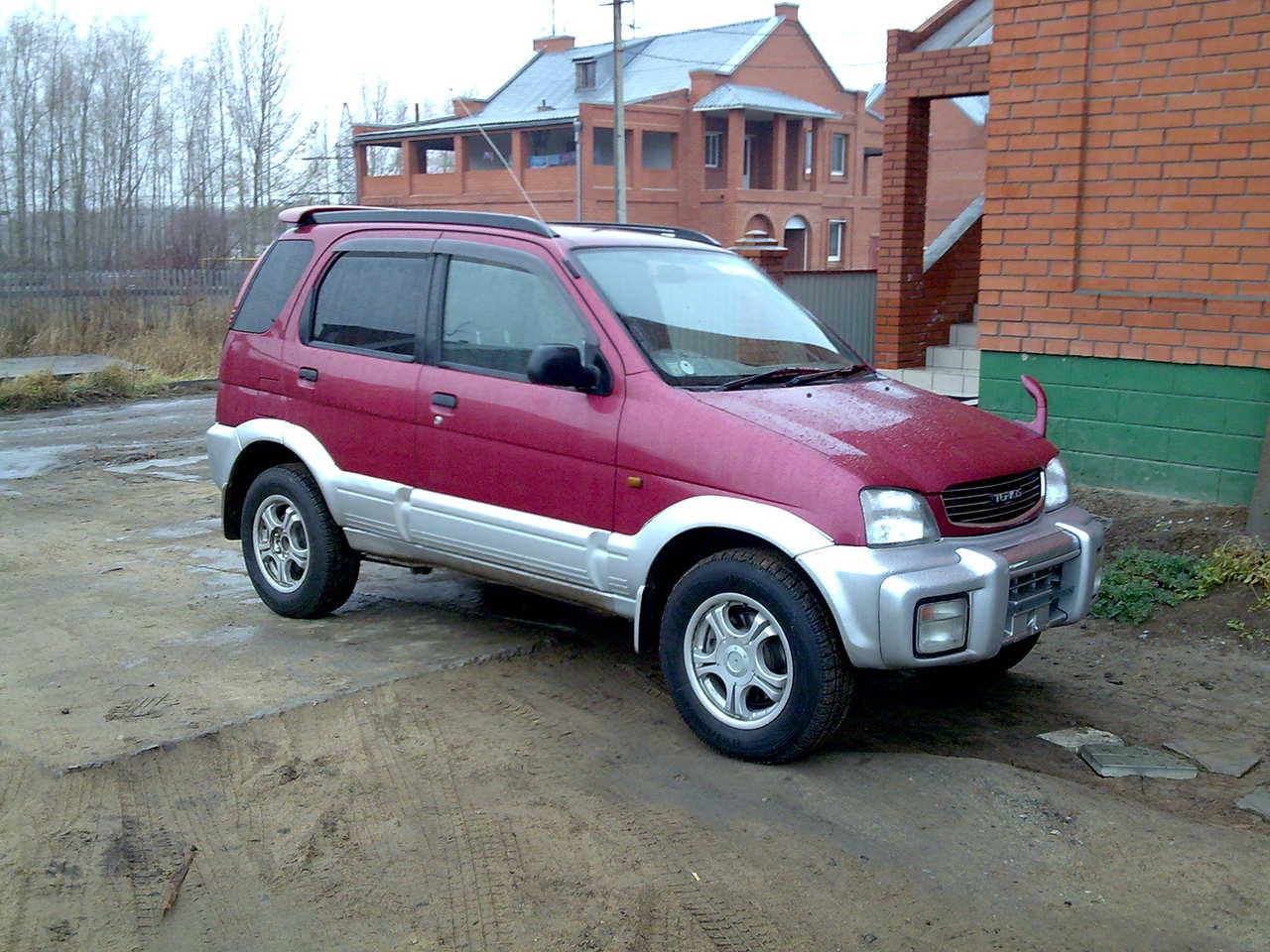 1997 Daihatsu Terios Pictures 1300cc Gasoline