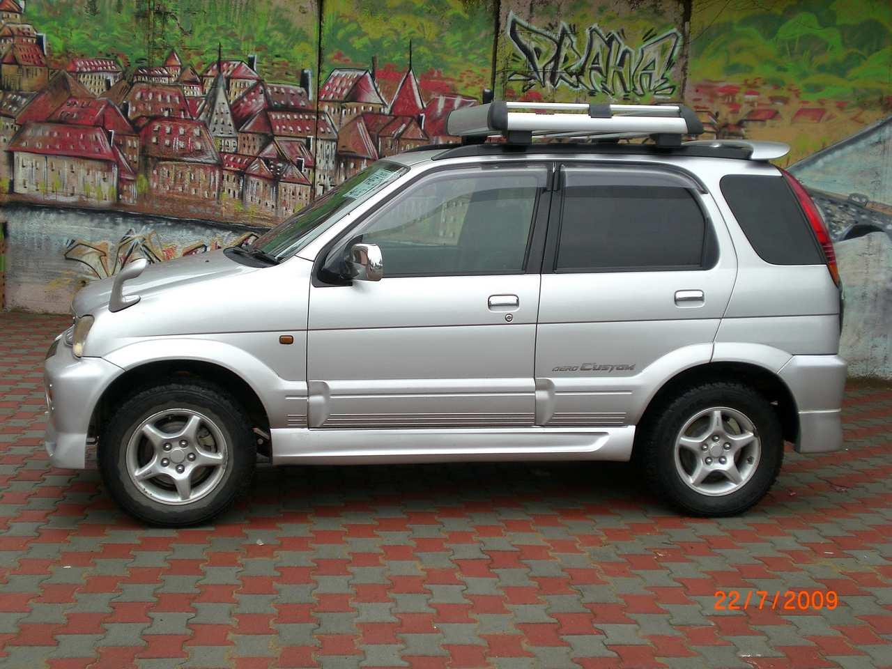 2000 Daihatsu Terios For Sale 1300cc Gasoline