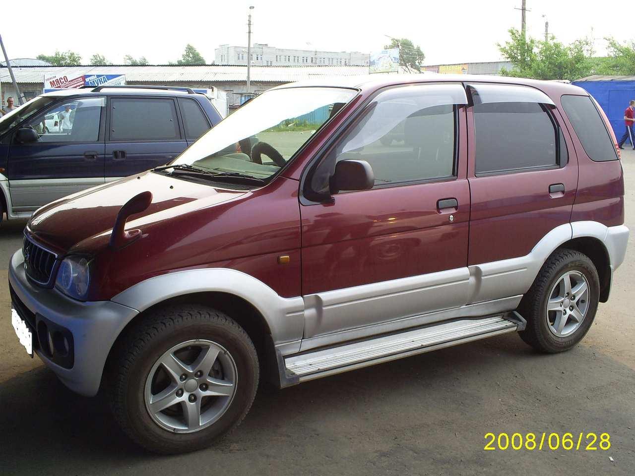 2001 Daihatsu Terios Pictures 1300cc Gasoline Fr Or Rr
