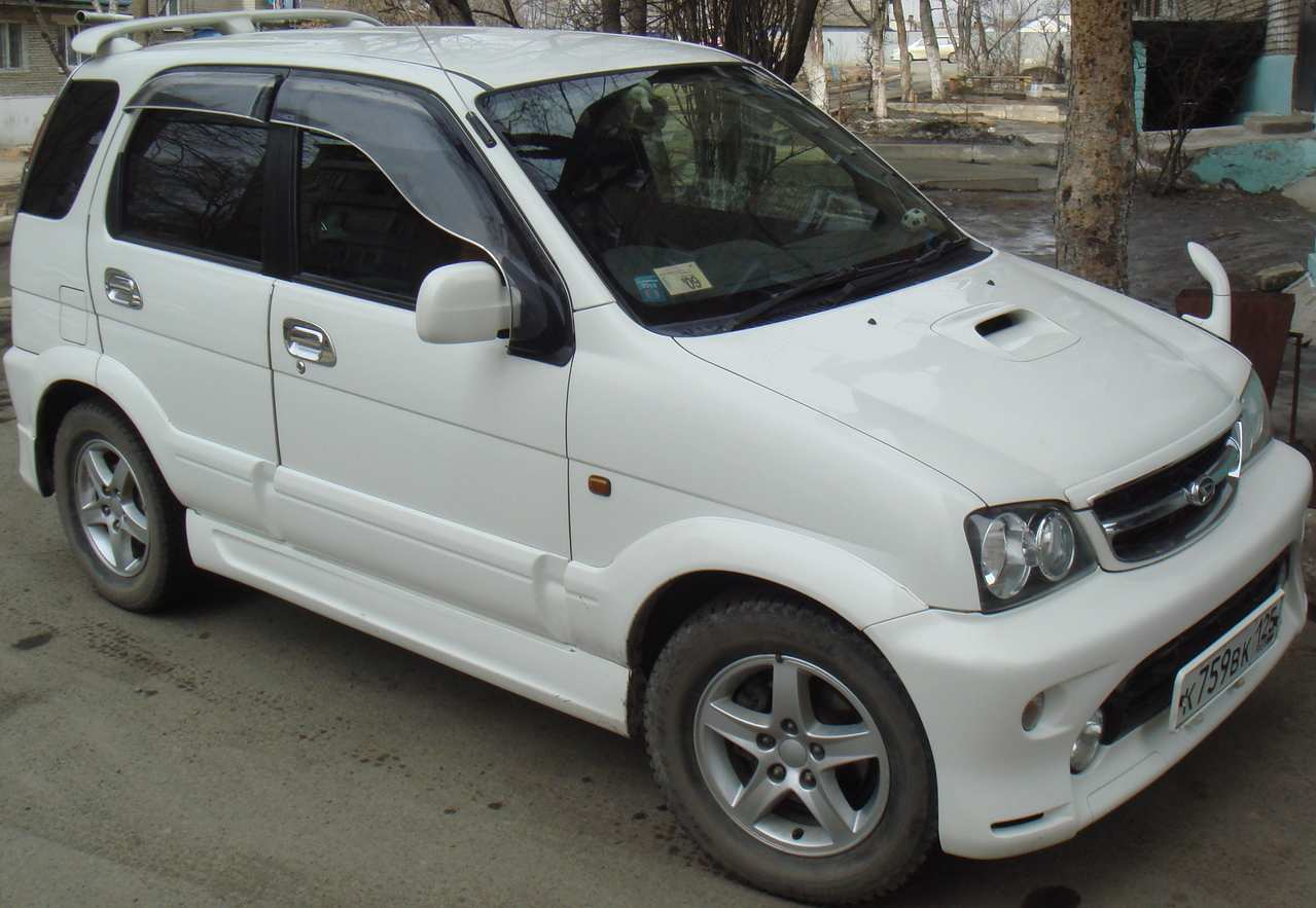 2001 Daihatsu Terios Photos 1 3 Gasoline Automatic For Sale