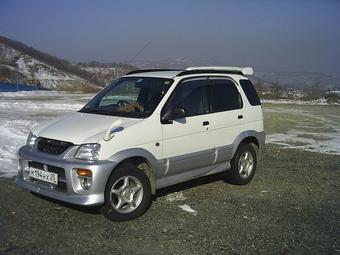 1998 Daihatsu Terios Kid Pictures 1 3l Gasoline Manual