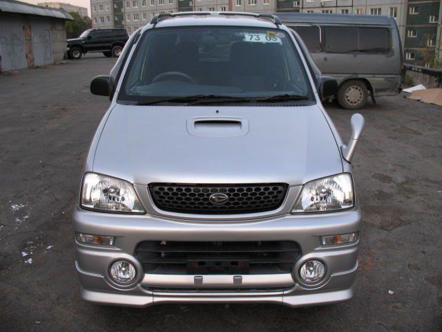 2003 Daihatsu Max Concept. Daihatsu Terios 1999.