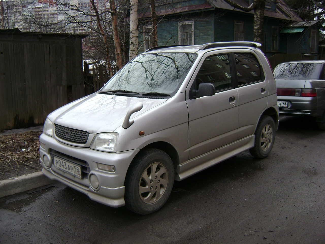 2000 Daihatsu Terios Kid Pictures 0 7l Gasoline