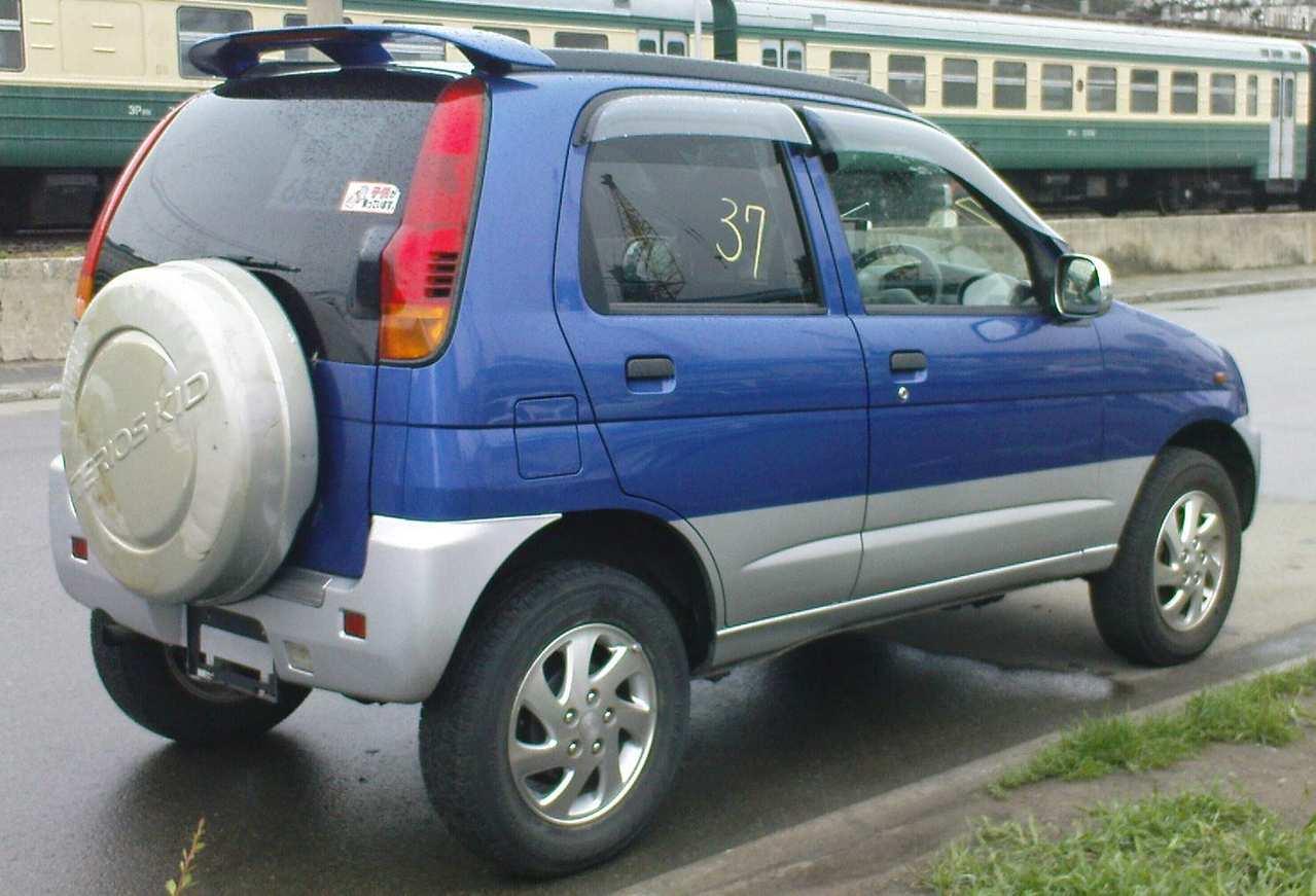 Used 2000 Daihatsu Terios Kid Wallpapers 0 7l Gasoline