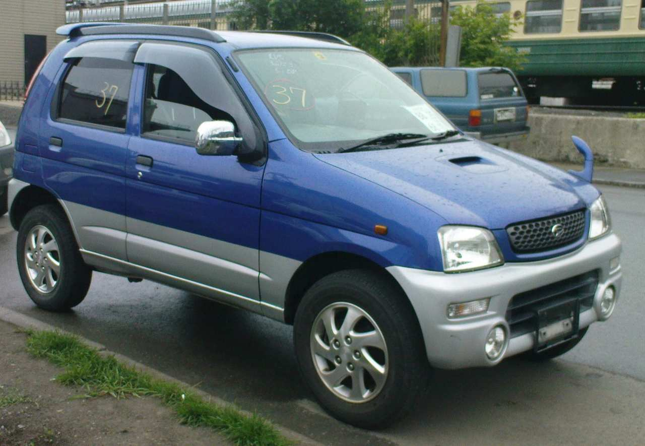 2000 Daihatsu Terios Kid For Sale 660cc Gasoline