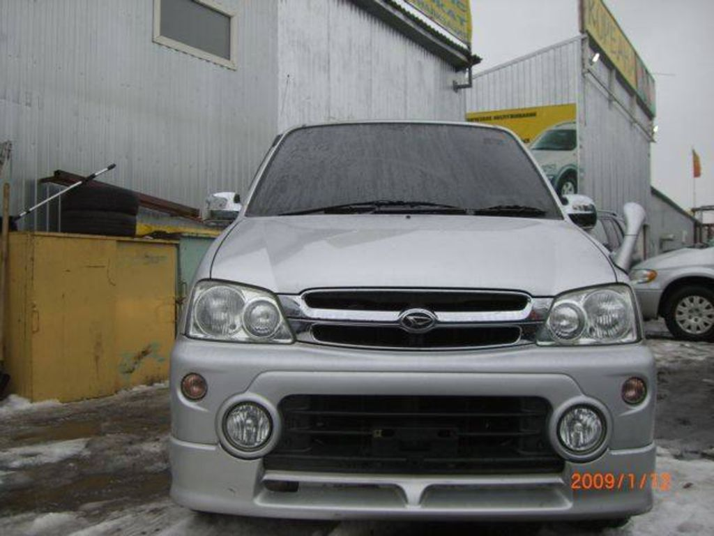 2003 Daihatsu Terios Kid Pictures Gasoline Automatic For Sale Wiring Diagram Sirion