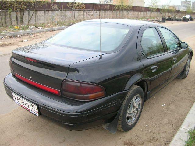 1996 Dodge Stratus Pictures, 2500cc., Gasoline, FF, Automatic For Sale