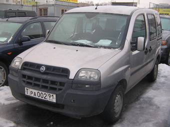 2003 FIAT Doblo For Sale