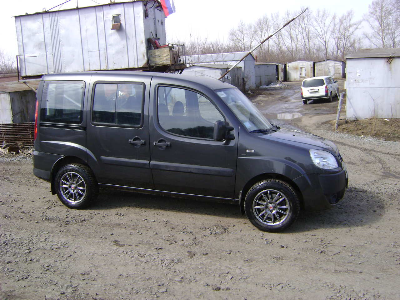 2008 Fiat Doblo Photos 1 4 Gasoline Ff Manual For Sale