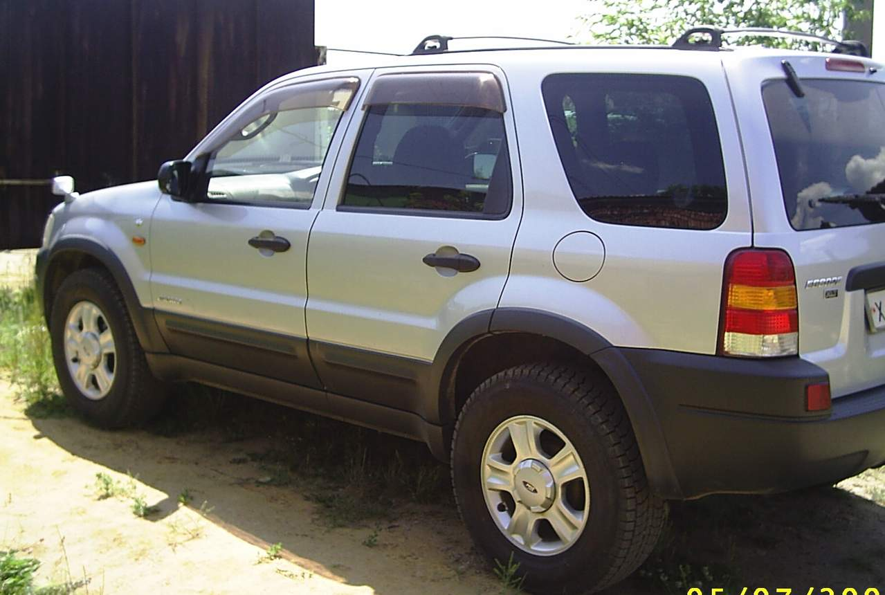 2000 Ford Escape Pictures 3 0l Gasoline Automatic For Sale
