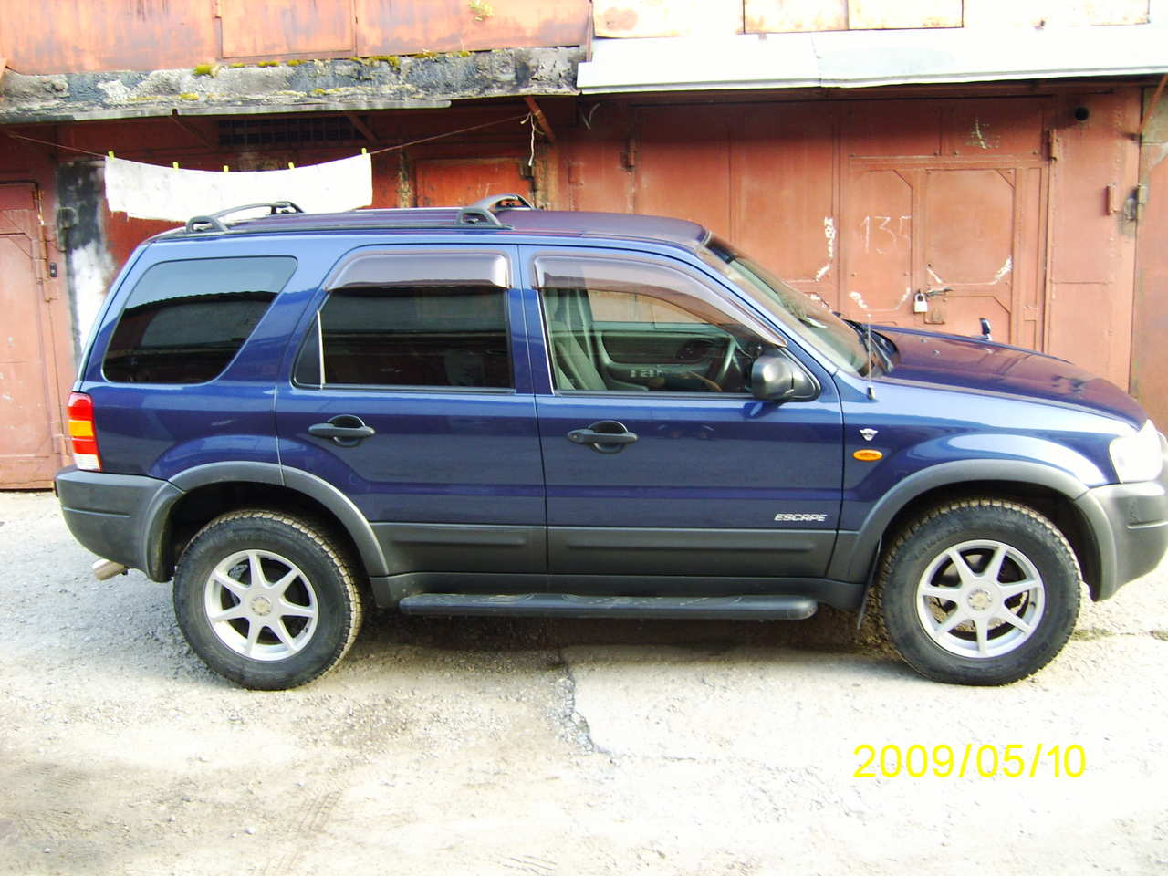 Ford Escape A B Orig on 2005 Ford Escape Engine