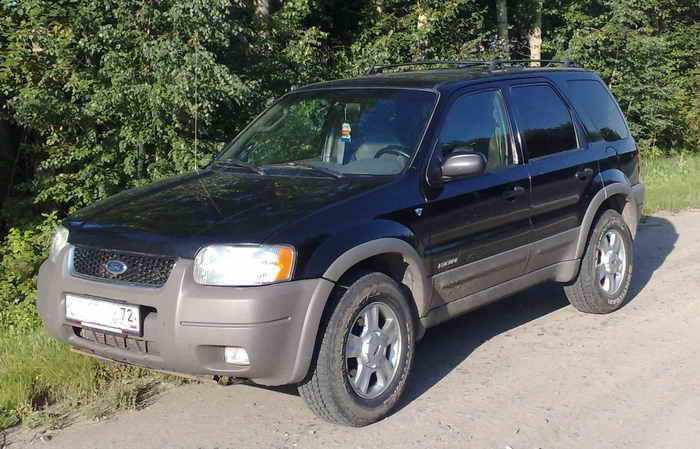 2001 Ford Escape Manual Transmission For Sale