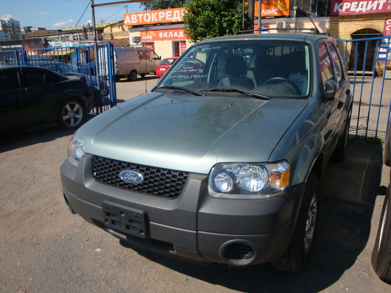 2005 FORD Escape Pictures, 2300cc., Gasoline, Manual For Sale
