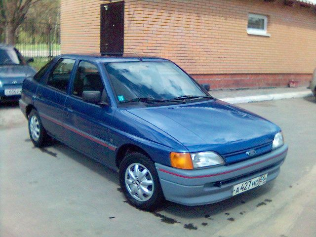 1990 Ford Escort Pictures 1400cc Gasoline Ff Manual
