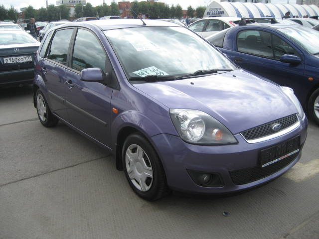 2007 ford fiesta pictures gasoline ff automatic for sale. Black Bedroom Furniture Sets. Home Design Ideas